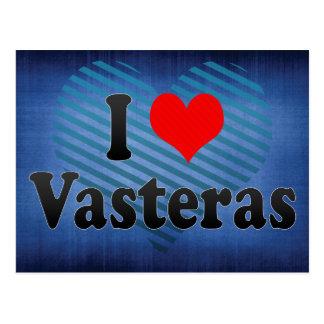I Love Vasteras, Sweden Post Card