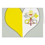 I Love Vatican Card