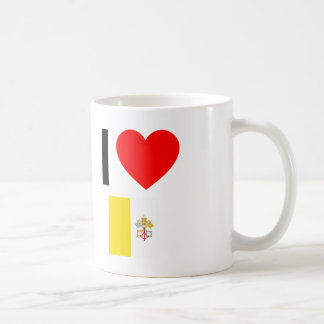i love vatican city coffee mug