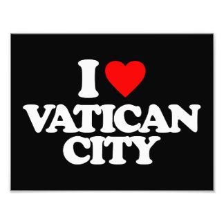 I LOVE VATICAN CITY PHOTO ART
