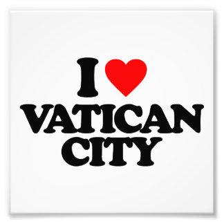 I LOVE VATICAN CITY PHOTOGRAPH