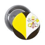I Love Vatican Pin