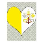 I Love Vatican Postcards