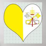 I Love Vatican Posters