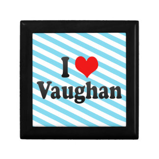 I Love Vaughan Canada Gift Box