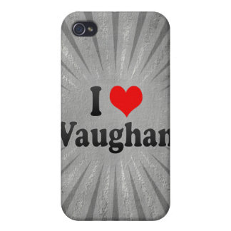 I Love Vaughan, Canada iPhone 4 Cases