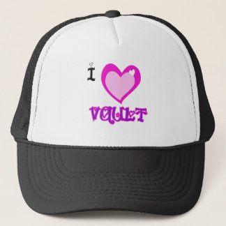 I LOVE Vault Trucker Hat