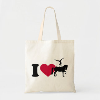 I love Vaulting horse Tote Bag