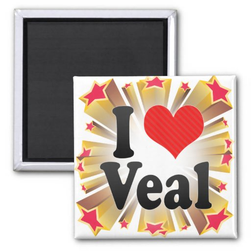 I Love Veal Magnets