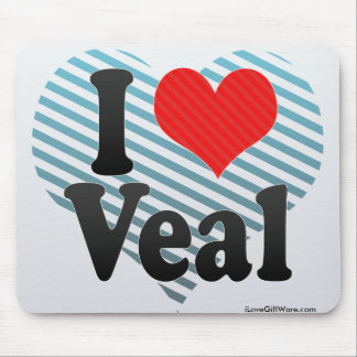 I Love Veal Mouse Pad
