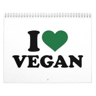 I love Vegan Calendar
