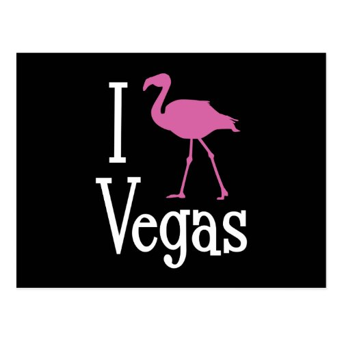 I Love Vegas Postcard