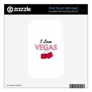 I Love Vegas Decal For iPod Touch 4G