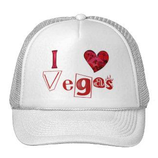 I love Vegas Trucker Hat