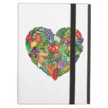 I Love Vegetables iPad Cover