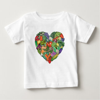 I Love Veggies Baby T-Shirt