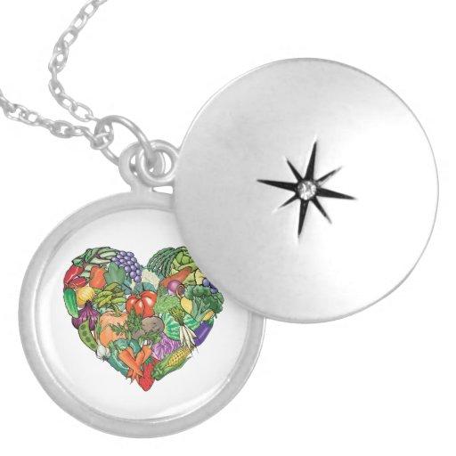 I Love Veggies Jewelry