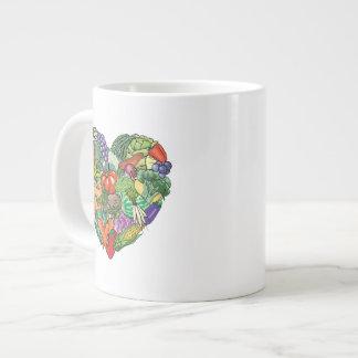 I Love Veggies Large Coffee Mug