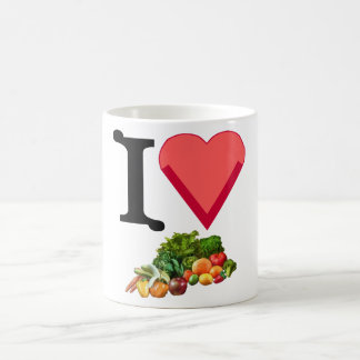 I Love Veggies Mug