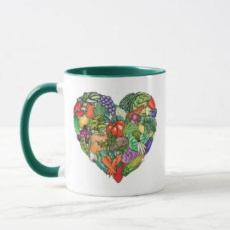 I Love Veggies Mug