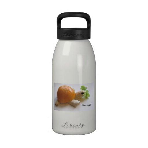I love veggies water bottles