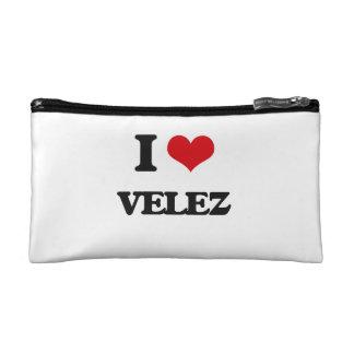 I Love Velez Cosmetic Bags