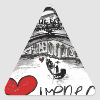 I love Venecia Sticker