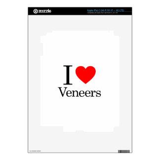 I Love Veneers iPad 3 Skin