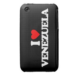 I LOVE VENEZUELA iPhone 3 Case-Mate CASE