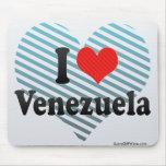 I Love Venezuela Mouse Pad