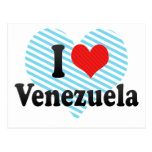 I Love Venezuela Postcard