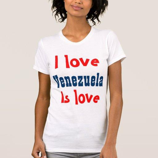 I love Venezuela Shirts