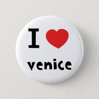 I love Venice Button