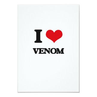 I love Venom 3.5x5 Paper Invitation Card