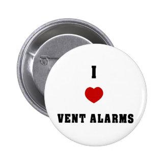 I Love Vent Farms Pinback Button