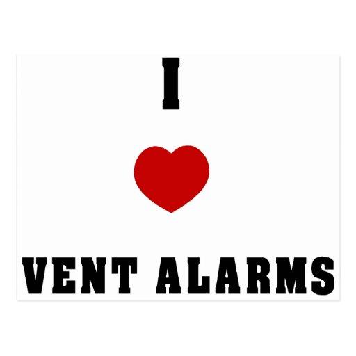 I Love Vent Farms Postcard