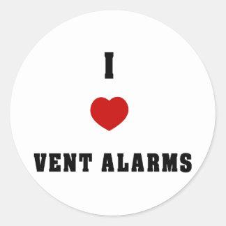 I Love Vent Farms Round Stickers