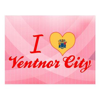 I Love Ventnor City, New Jersey Postcard