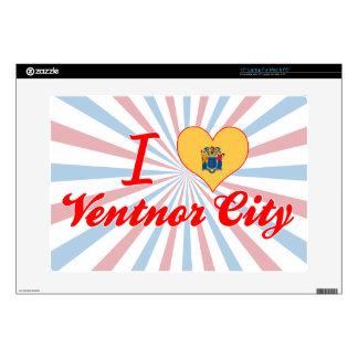 I Love Ventnor City, New Jersey Skin For Laptop