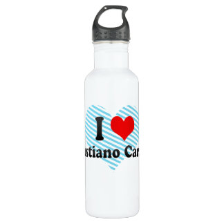 I Love Venustiano Carranza, Mexico Stainless Steel Water Bottle