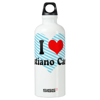I Love Venustiano Carranza, Mexico Water Bottle