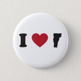 I love Vermont Button