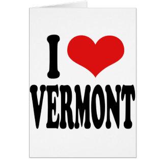 I Love Vermont Card