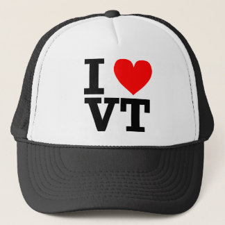 I Love Vermont Design Trucker Hat