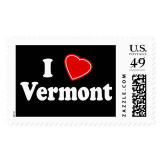 I Love Vermont Stamp
