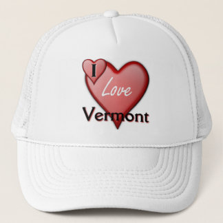 I Love Vermont Trucker Hat