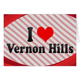 I Love Vernon Hills, United States Card