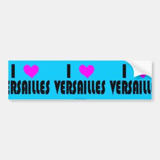 I Love Versailles France bumper sticker Car Bumper Sticker