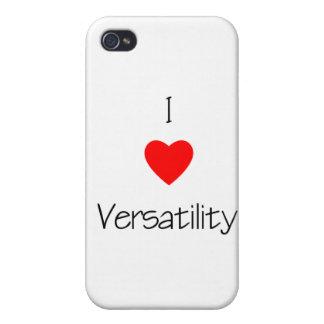 I Love Versatility iPhone 4/4S Cases