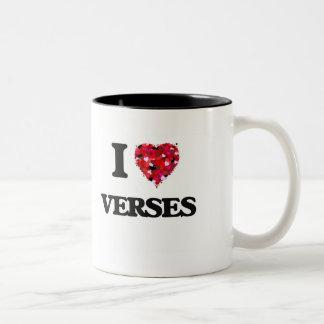 I love Verses Two-Tone Coffee Mug